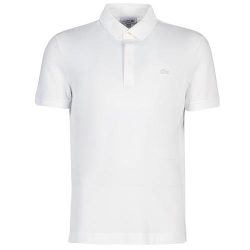 Odjeća Muškarci  Polo majice kratkih rukava Lacoste PARIS POLO REGULAR Bijela