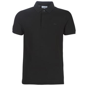Odjeća Muškarci  Polo majice kratkih rukava Lacoste PARIS POLO REGULAR Crna