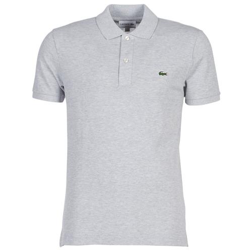 Odjeća Muškarci  Polo majice kratkih rukava Lacoste PH4012 SLIM Siva