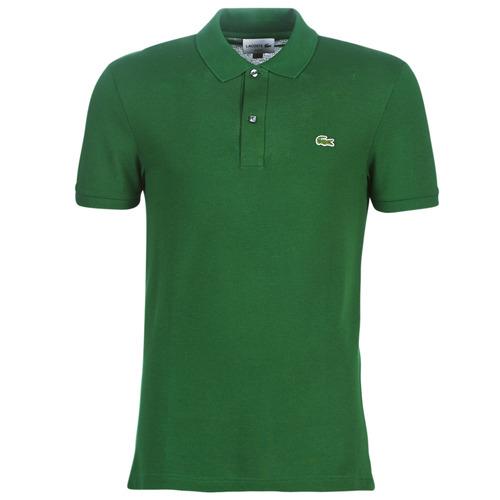 Odjeća Muškarci  Polo majice kratkih rukava Lacoste PH4012 SLIM Zelena