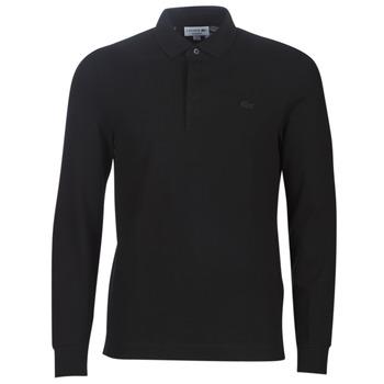 Odjeća Muškarci  Polo majice dugih rukava Lacoste PH2481 REGULAR Crna