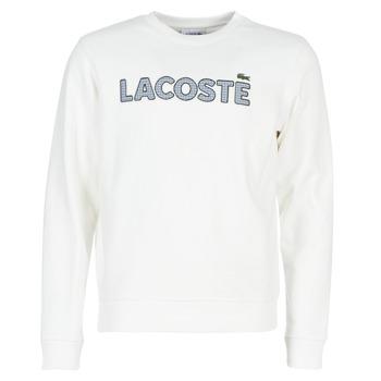 Odjeća Muškarci  Sportske majice Lacoste SH8632 Bijela