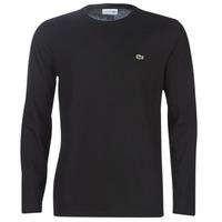 Odjeća Muškarci  Majice dugih rukava Lacoste TH6712 Crna