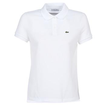 Odjeća Žene  Polo majice kratkih rukava Lacoste PF7839 Bijela