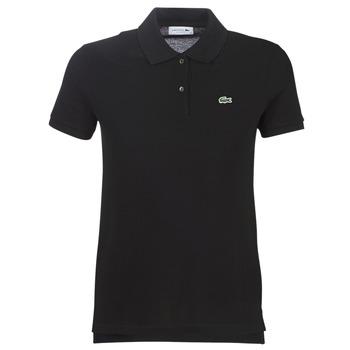 Odjeća Žene  Polo majice kratkih rukava Lacoste PF7839 Crna