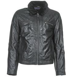 Odjeća Muškarci  Kožne i sintetičke jakne Teddy Smith BLEATHER Crna