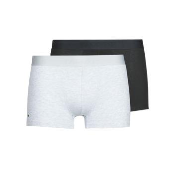 Donje rublje Muškarci  Bokserice Lacoste 5H3378-SNP Crna / Siva / Raznobojno tkanje