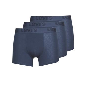 Donje rublje Muškarci  Bokserice Levi's PRENIUM BRIEF PACK X3 Blue