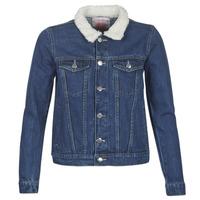 Odjeća Žene  Traper jakne Moony Mood LOTITO Blue