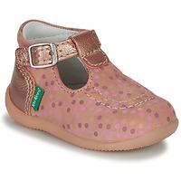 Obuća Djevojčica Sandale i polusandale Kickers BONBEK-3 Ružičasta / Polka dot