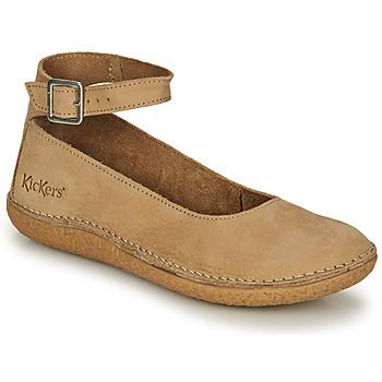 Obuća Žene  Balerinke i Mary Jane cipele Kickers HONNORA Bež