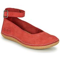 Obuća Žene  Balerinke i Mary Jane cipele Kickers HONNORA Red