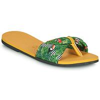 Obuća Žene  Japanke Havaianas YOU SAINT TROPEZ Žuta / Zelena