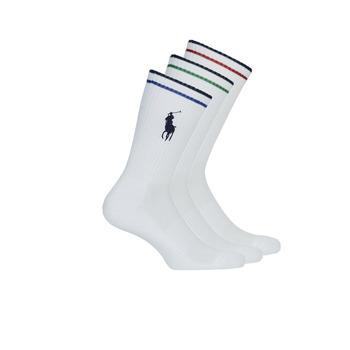 Modni dodaci Muškarci  Čarape Polo Ralph Lauren 3PK BPP-SOCKS-3 PACK Bijela