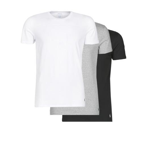 Odjeća Muškarci  Majice kratkih rukava Polo Ralph Lauren WHITE/BLACK/ANDOVER HTHR pack de