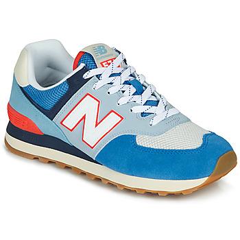 Obuća Niske tenisice New Balance 574 Plava / Siva / Narančasta