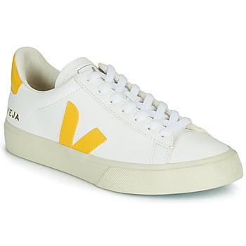 Obuća Niske tenisice Veja CAMPO Bijela / Žuta