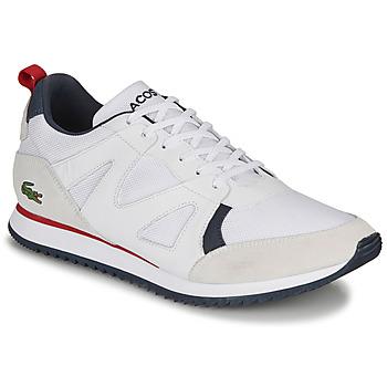 Obuća Muškarci  Niske tenisice Lacoste AESTHET 120 2 SMA Bijela / Blue / Red
