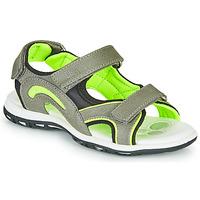 Obuća Dječak  Sportske sandale Chicco CEDDER Siva / Zelena