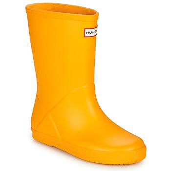 Obuća Djeca Gumene čizme Hunter KIDS FIRST CLASSIC Žuta
