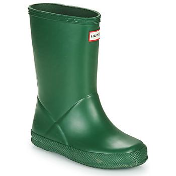 Obuća Djeca Gumene čizme Hunter KIDS FIRST CLASSIC Zelena