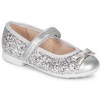 Obuća Djevojčica Balerinke i Mary Jane cipele Geox JR PLIE' Srebrna