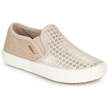 Obuća Djevojčica Slip-on cipele Geox J KILWI GIRL Bež