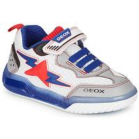 Obuća Dječak  Niske tenisice Geox J INEK BOY Bijela / Blue / Red