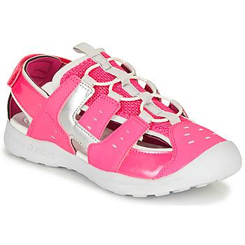 Obuća Djevojčica Sportske sandale Geox J VANIETT GIRL Ružičasta / Srebrna