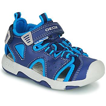 Obuća Dječak  Sportske sandale Geox B SANDAL MULTY BOY Blue