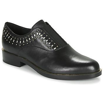 Obuća Žene  Derby cipele Geox D BROGUE S Crna / Gold