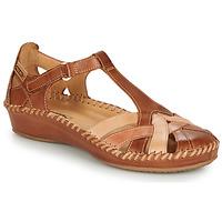 Obuća Žene  Balerinke i Mary Jane cipele Pikolinos P. VALLARTA 655 Boja konjaka / Camel