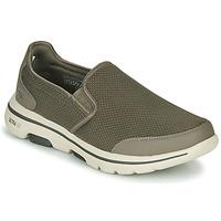 Obuća Muškarci  Slip-on cipele Skechers GO WALK 5 Kaki