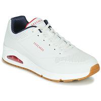 Obuća Muškarci  Niske tenisice Skechers UNO STAND ON AIR Bijela