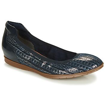 Obuća Žene  Balerinke i Mary Jane cipele Tamaris  Srebrna