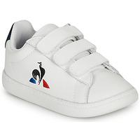 Obuća Djeca Niske tenisice Le Coq Sportif COURTSET INF Bijela