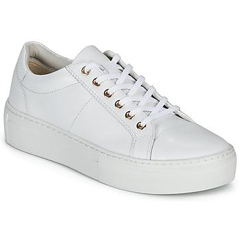 Obuća Žene  Niske tenisice Vagabond Shoemakers ZOE PLATFORM Bijela