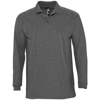 Odjeća Muškarci  Polo majice dugih rukava Sols WINTER 2 CASUAL MEN Gris