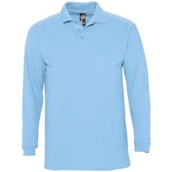Odjeća Muškarci  Polo majice dugih rukava Sols WINTER 2 CASUAL MEN Azul
