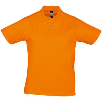 Odjeća Muškarci  Polo majice kratkih rukava Sols PRESCOTT CASUAL DAY Naranja