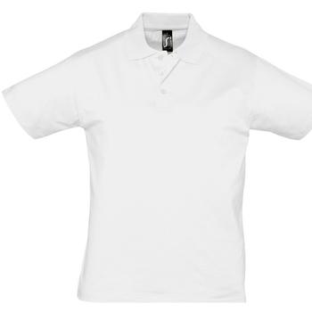 Odjeća Muškarci  Polo majice kratkih rukava Sols PRESCOTT CASUAL DAY Blanco