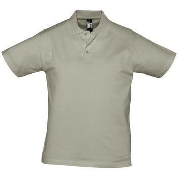 Odjeća Muškarci  Polo majice kratkih rukava Sols PRESCOTT CASUAL DAY Beige