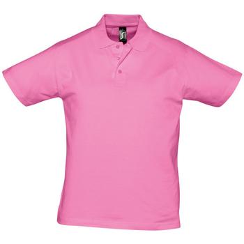 Odjeća Muškarci  Polo majice kratkih rukava Sols PRESCOTT CASUAL DAY Rosa