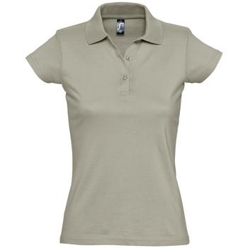 Odjeća Žene  Polo majice kratkih rukava Sols PRESCOTT CASUAL DAY Beige