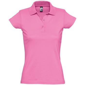 Odjeća Žene  Polo majice kratkih rukava Sols PRESCOTT CASUAL DAY Rosa