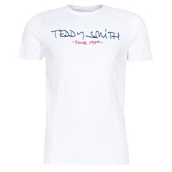 Odjeća Muškarci  Majice kratkih rukava Teddy Smith TICLASS Bijela