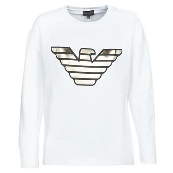 Odjeća Žene  Sportske majice Emporio Armani DJIMMY Bijela