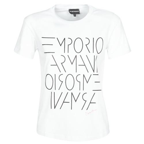 Odjeća Žene  Majice kratkih rukava Emporio Armani DONOVANN Bijela