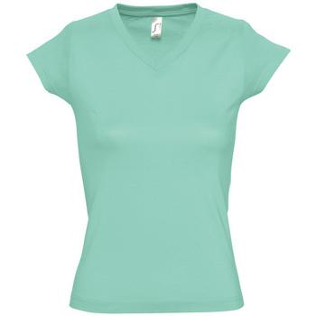 Odjeća Žene  Majice kratkih rukava Sols MOON COLORS GIRL Verde