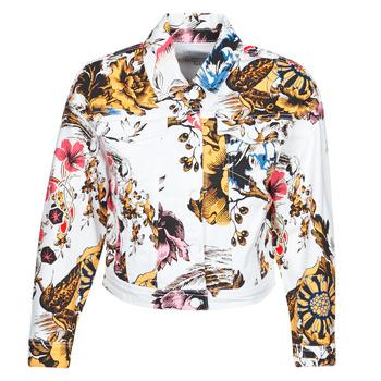 Odjeća Žene  Traper jakne Desigual FANTASY Multicolour